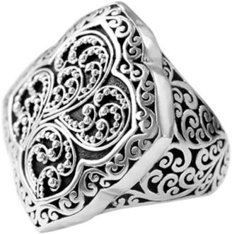 Lois Hill Signature Carved Ring