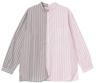 Ne-net (ネ ネット) - ネ・ネット / S pickable stripe shirt / シャツ