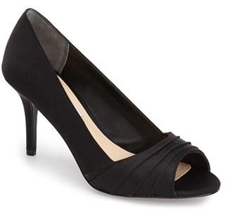 Women's Nina 'Vesta' Peep Toe Pump $84.95 thestylecure.com