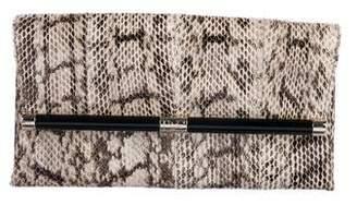 Diane von Furstenberg Snakeskin 440 Envelope Clutch
