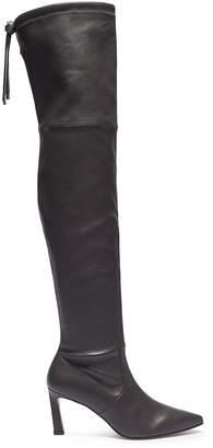 Stuart Weitzman 'Natalia' stretch leather thigh high boots
