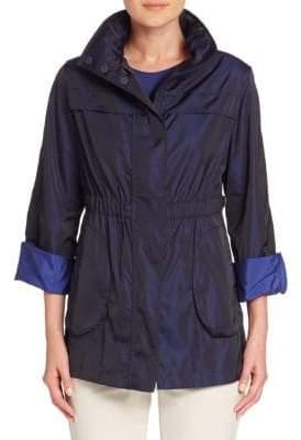 Armani Collezioni Bicolored Nylon Jacket
