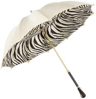 Persolé Cream Zebra UV Parasol Umbrella