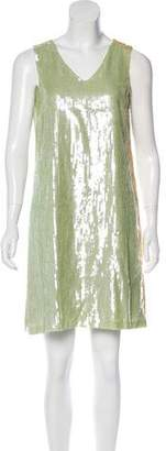 Fendi Sequin Shift Dress