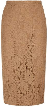Max Mara Lace Pencil Skirt