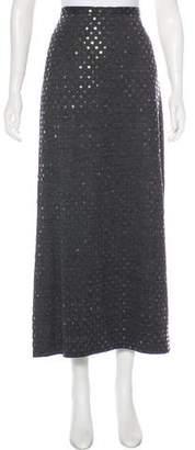 Diane von Furstenberg Wool-Blend Midi Skirt