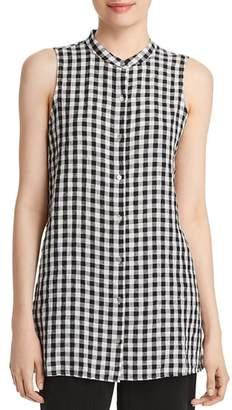 Eileen Fisher Petites Sleeveless Organic-Cotton Tunic