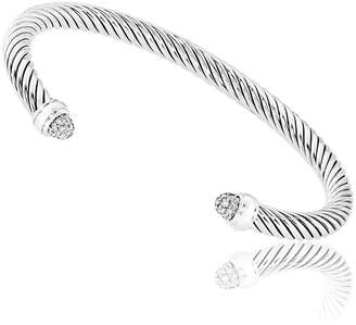 David Yurman Cable Classics Diamond Bracelet B09158Dssadi