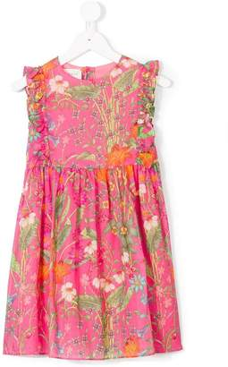 Gucci Kids Children's New Flora Daisy print cotton dress