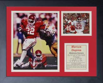 """Marcus Collection Dupree - Oklahoma 11"""" x 14"""" Framed Photo Collage by Legends Never Die, Inc."""