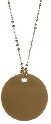 BaubleBar Ada Round Disc Pendant Necklace
