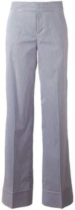 DSQUARED2 pinstripe wide trousers