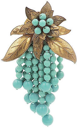 One Kings Lane Vintage 1930s Miriam Haskell Beaded Dress Clip - Carrie's Couture