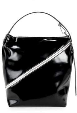 Proenza Schouler Medium Patent Leather Hobo Bag