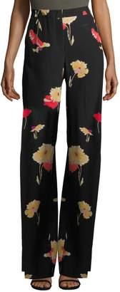 Etro Women's Floral Pleated Pants