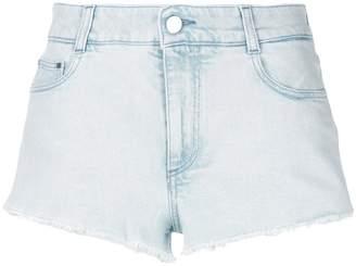 Stella McCartney cut-off denim shorts
