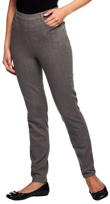 Denim & Co. Petite Classic Waist Stretch Jeggings