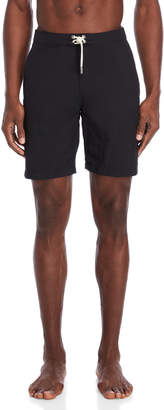 Solid & Striped Black Solid Board Shorts