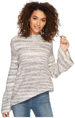Kensie Space Dye Punk Yarn Sweater KSDK5673 Women's Sweater