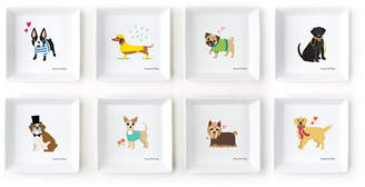 Twos Company Two's Company Two's Company Kennel Club Set of 8 Dog Decorative Trays Designed By Stacy Claire Boyd Includes 8 Designs