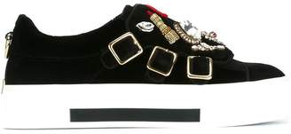 Alexander McQueen 'Obsession' charms sneakers