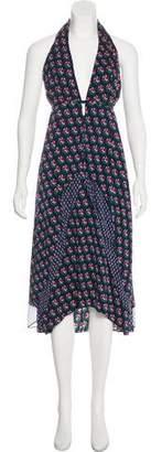 Diane von Furstenberg Leyland Silk-Blend Dress