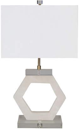 Surya Kinsey Ivory Table Lamp