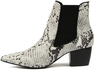Sol Sana Ella boot Black & white Boots Womens Shoes Casual Ankle Boots