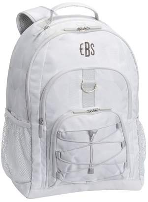 Pottery Barn Teen Gear-Up White Facet Backpack
