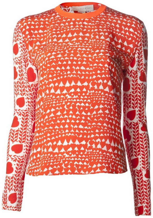 Stella McCartney printed pullover sweater