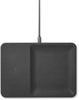 Ash Courant CATCH:3 Single Device Wireless Charging Station w/ Accessory Organizer,