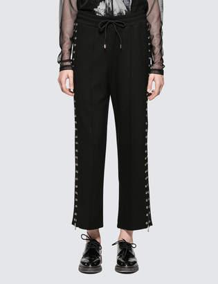 McQ Zip Pintuck Sweatpants