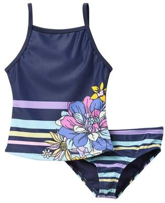 Limeapple Gweyn Two-Piece Tankini Swimsuit Set (Little Girls)