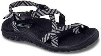 Women's Reggae Haystack Sport Sandal -Black/Grey $45 thestylecure.com