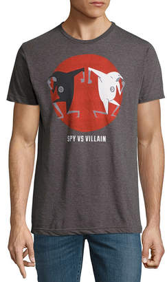 Victoria's Secret Novelty T-Shirts Spy Villian Graphic Tee