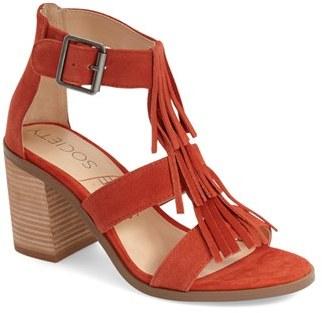 Women's Sole Society 'Delilah' Fringe Sandal $89.95 thestylecure.com