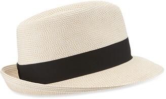 b853f58b87aa8c Eric Javits Squishee Classic Woven Fedora Hat