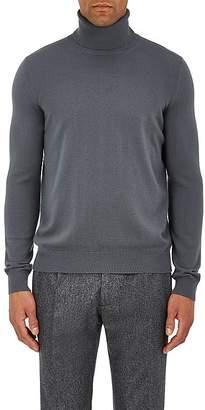 Boglioli Men's Brushed Wool Turtleneck Sweater
