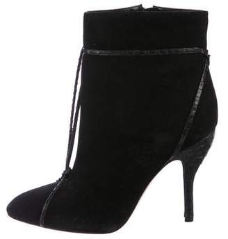 Zac Posen Suede Ankle Boots