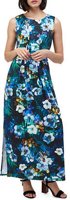 Precis Petite Tropical Print Sleeveless Maxi Dress