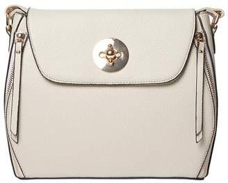 Dorothy Perkins Grey Double Zip Crossbody Bag