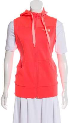 The North Face Hooded Zip-Up Vest