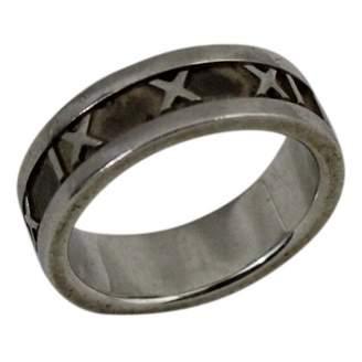 Tiffany & Co. Atlas silver ring