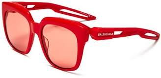 Balenciaga Women's Square Sunglasses, 54mm