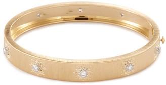 Buccellati 'Macri Classica' diamond gold bangle