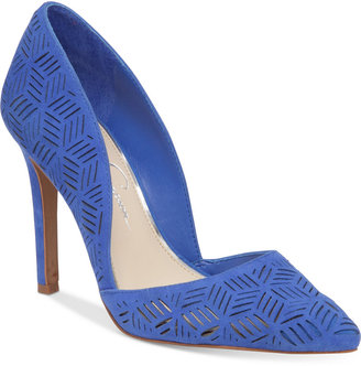 Jessica Simpson Charie d'Orsay Dress Pumps $98 thestylecure.com