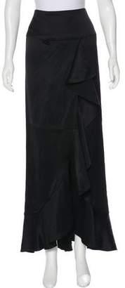 Juan Carlos Obando Ruffled Maxi Skirt