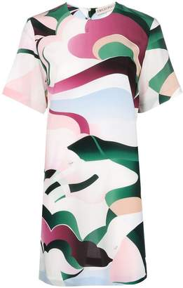 Emilio Pucci abstract printed T-shirt dress