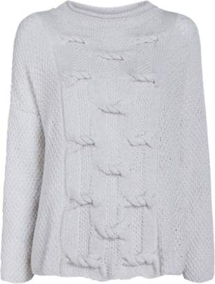 Hania New York Ebree Mockneck Cashmere Sweater