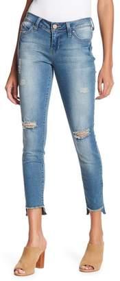 YMI Jeanswear Jeans WannaBettaButt Release Step Hem Skinny Denim Jeans